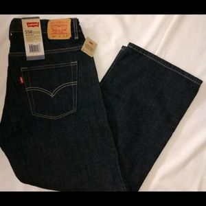 Levi's 550 Relaxed Fit Jeans- 33w x 28l